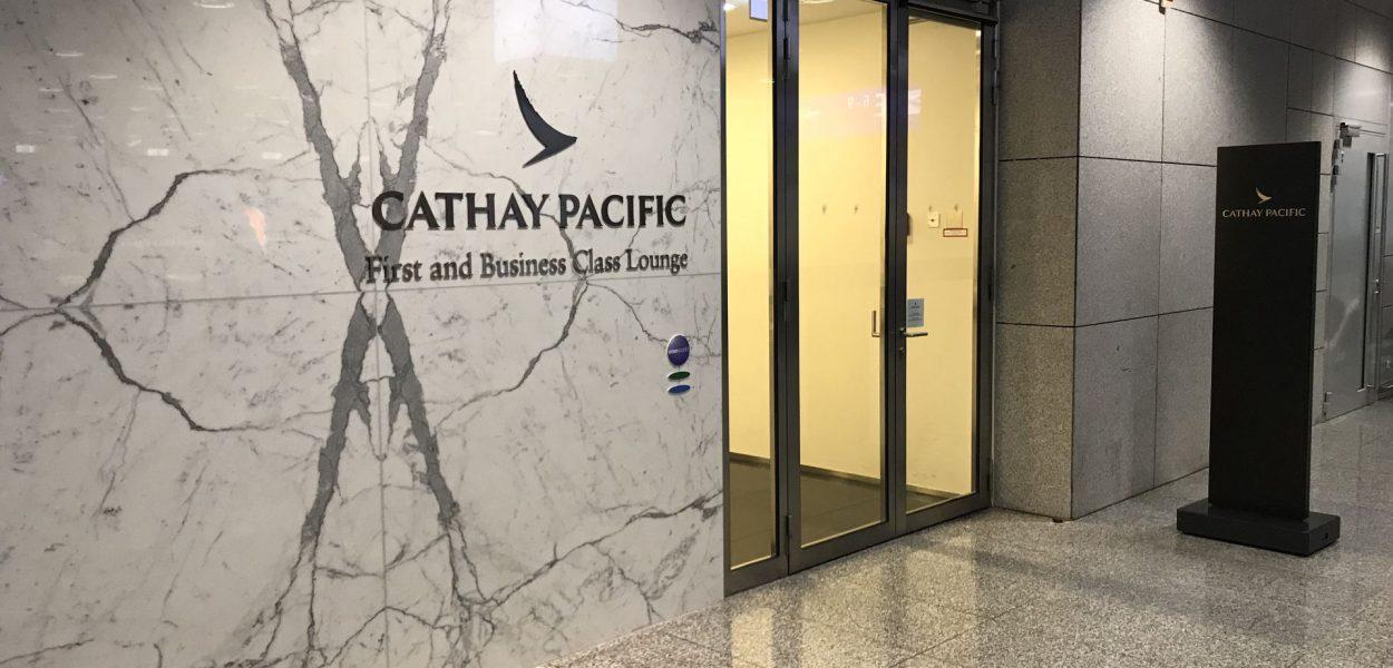 cathay pacific lounge frankfurt eingang