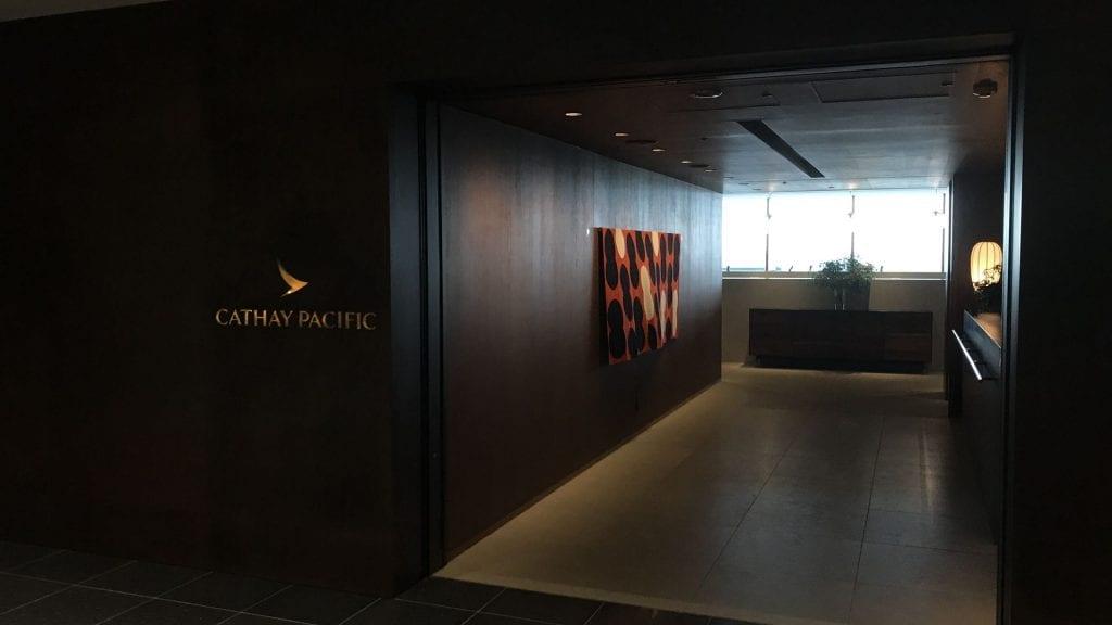 cathay pacific lounge tokio haneda eingang