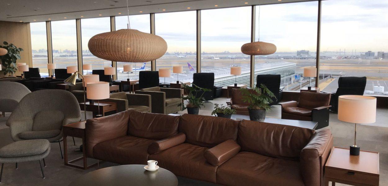 cathay pacific lounge tokio haneda lounge bereich