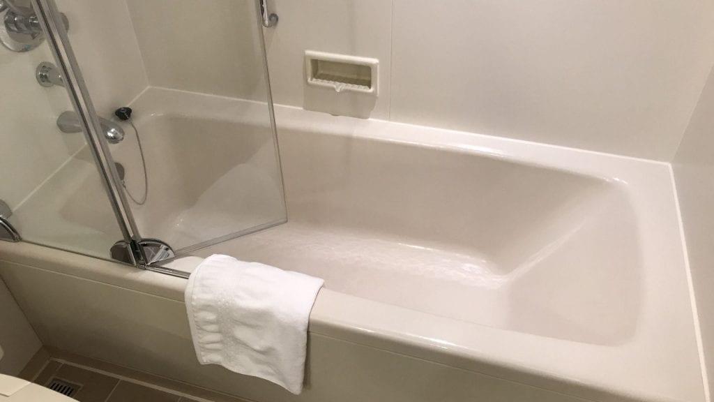 hilton tokyo badezimmer dusche