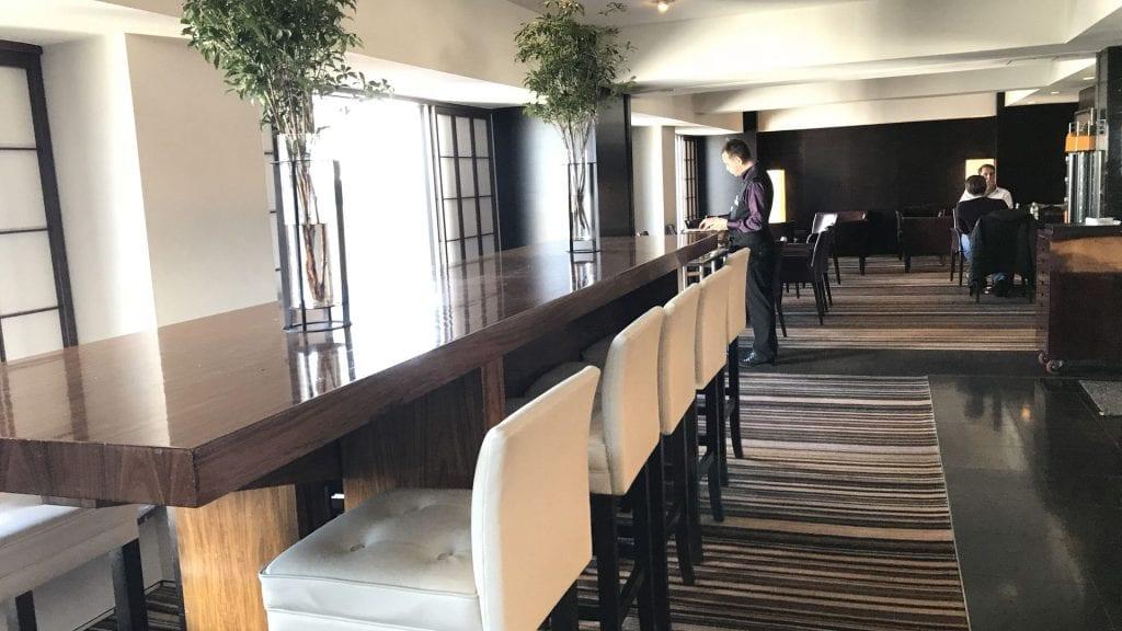 hilton tokyo executive lounge