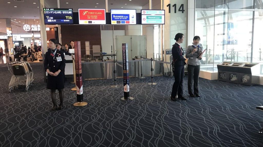 Boarding Gruppen nach Reiseklasse