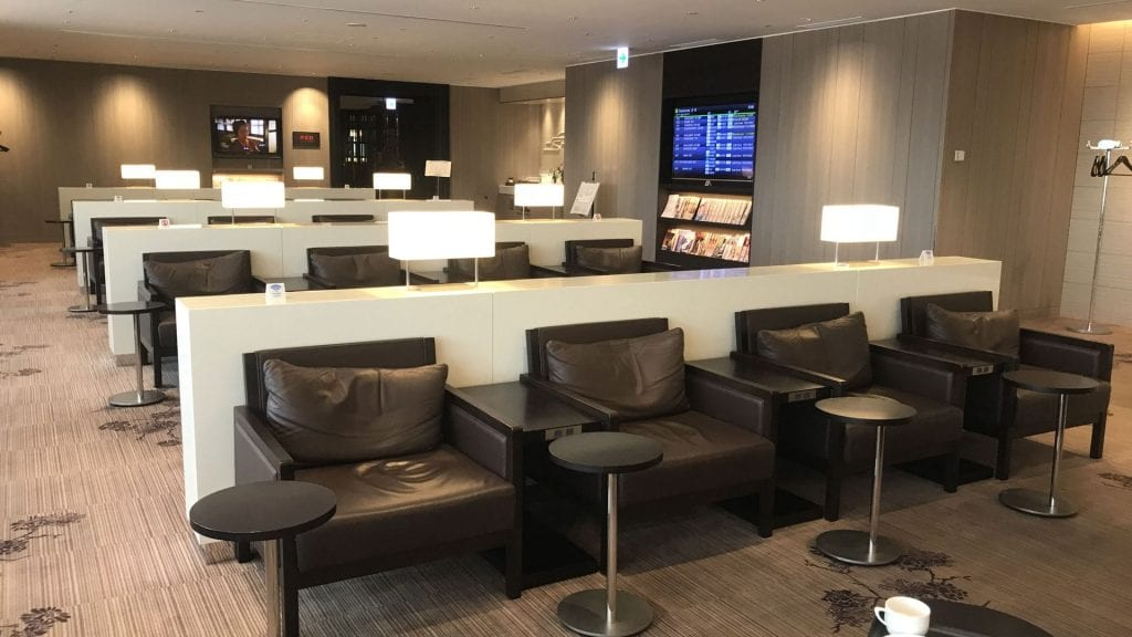 japan airlines first class lounge tokio haneda lounge bereich 2