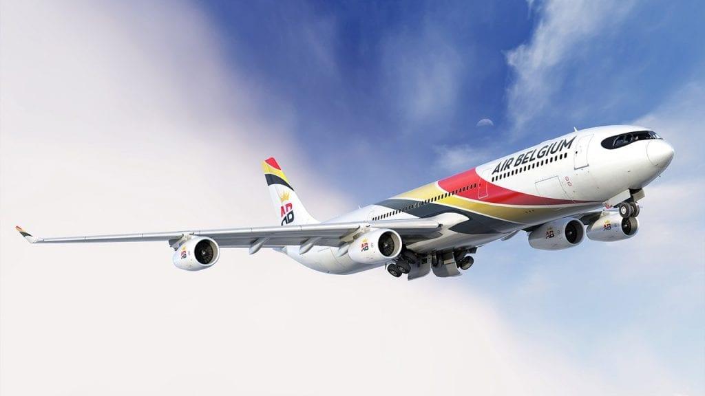 Air Belgium Airbus A340 300 2