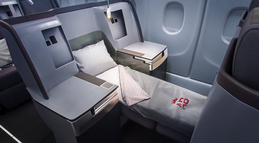 Air Belgium Business Class 2