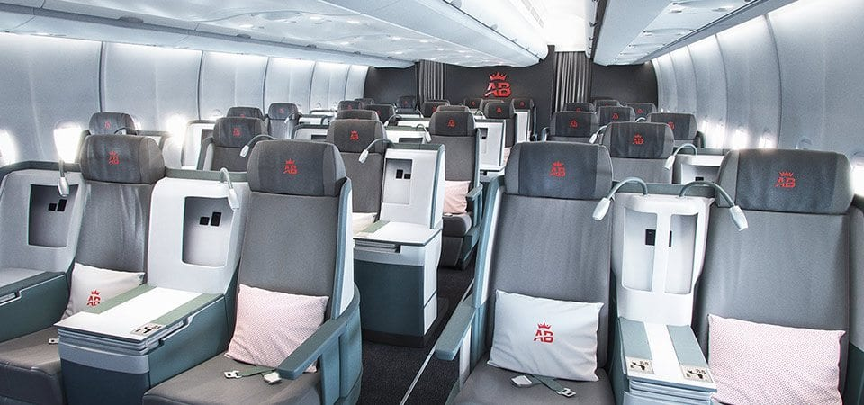 Air Belgium Business Class