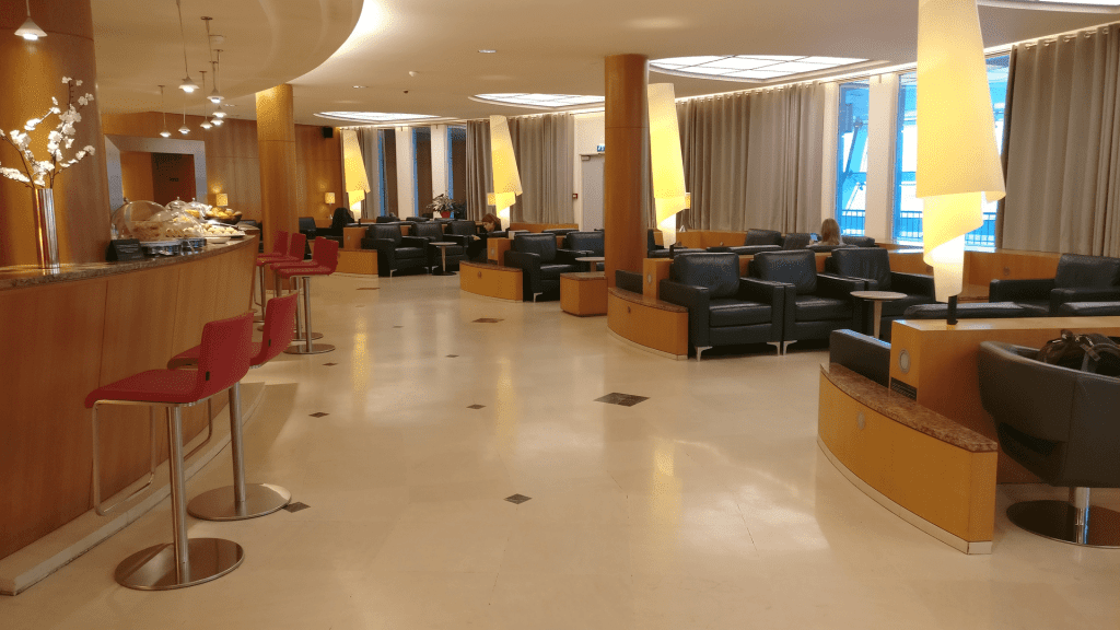 Air Canada Lounge Paris CDG Priority Pass
