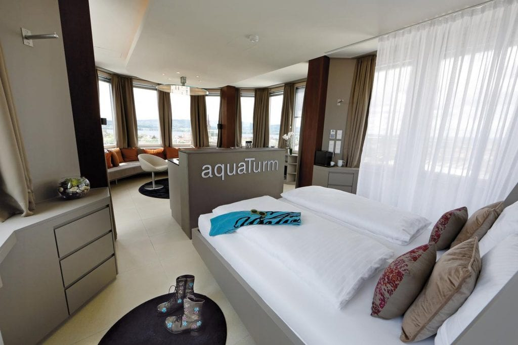 Designhotel aquaTurm travelzoo Zimmer