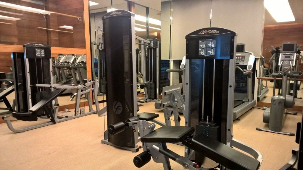Gym Pullman Bangkok King Power