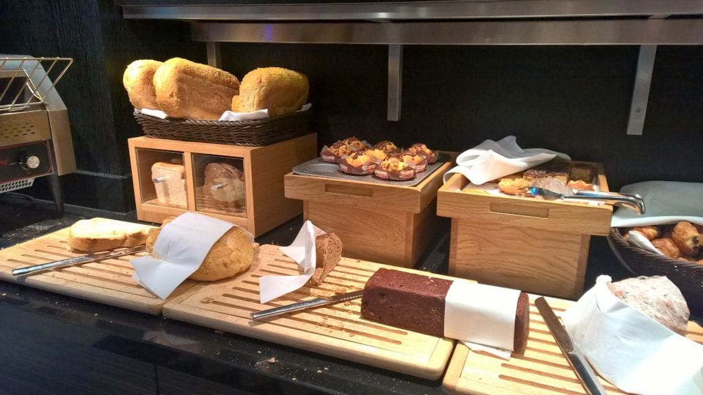 Hilton Den Haag Executive Lounge Frühstück 8