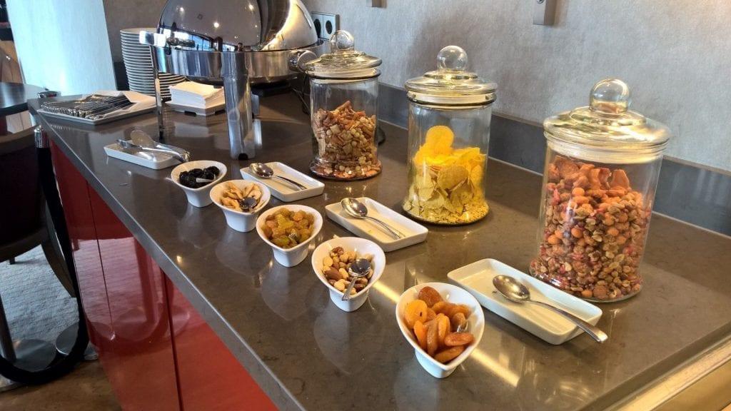 Hilton Den Haag Executive Lounge Snacks
