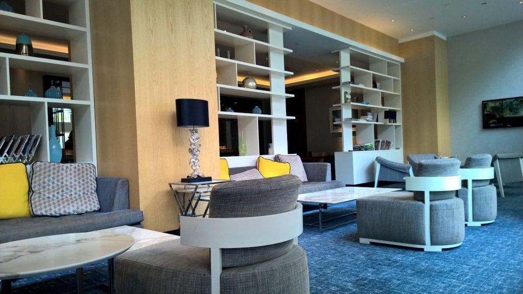 Hilton Rotterdam Executive Lounge 3