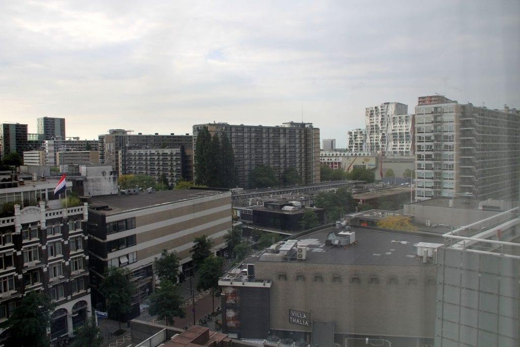 Hilton Rotterdam Junior Suite Ausblick