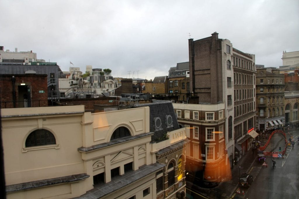 One Aldwych London Executive Room Ausblick