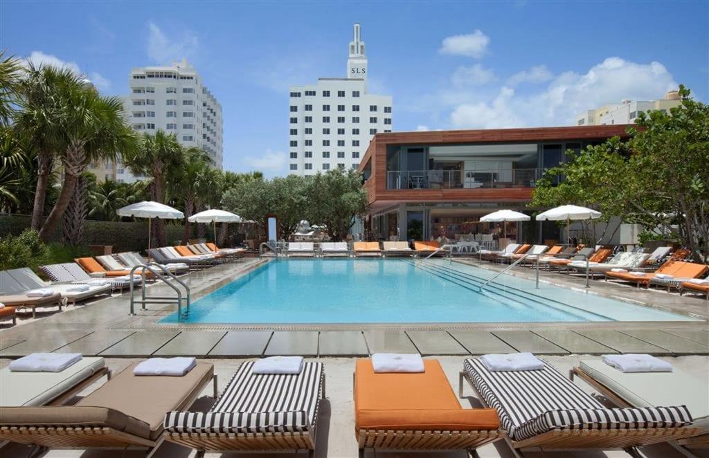 SLS South Beach Miami Pool 2