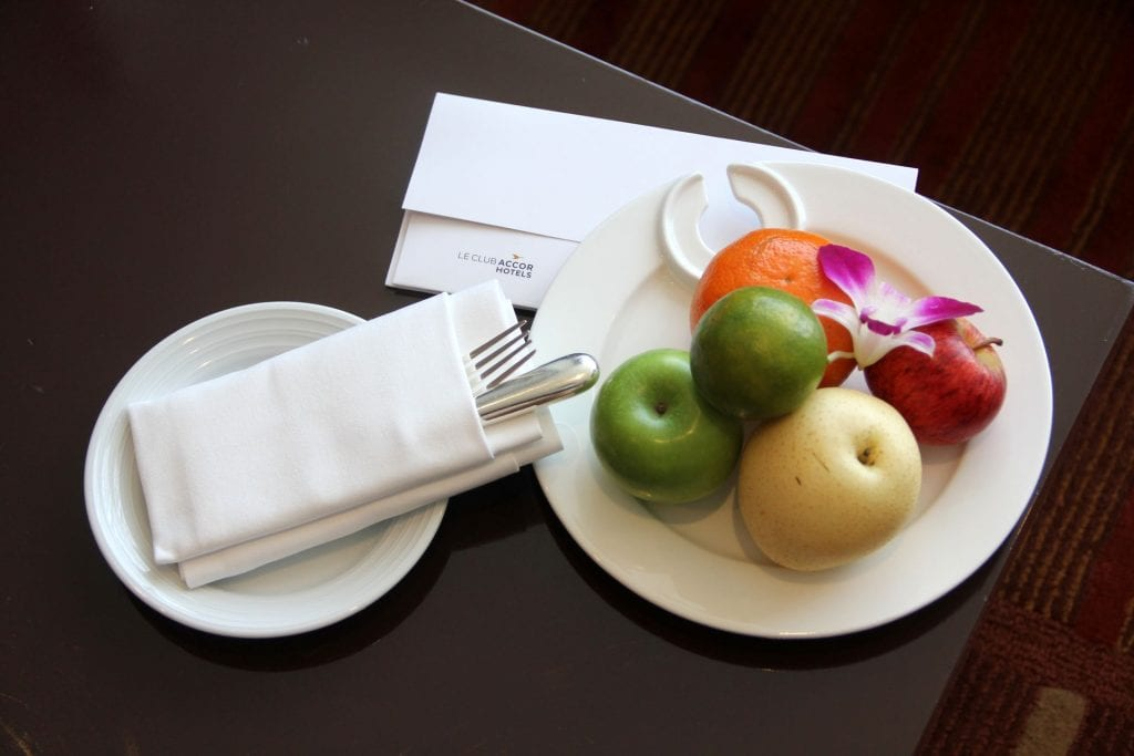 Welcome Treatment Pullman Bangkok King Power