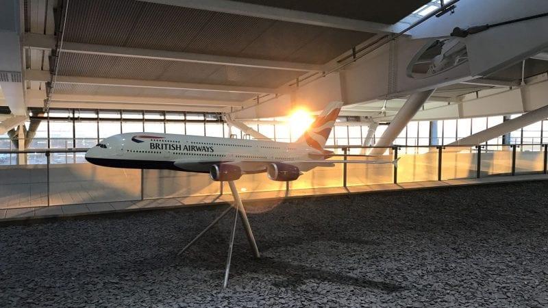 british airways galleries lounge london heathrow t5 modell