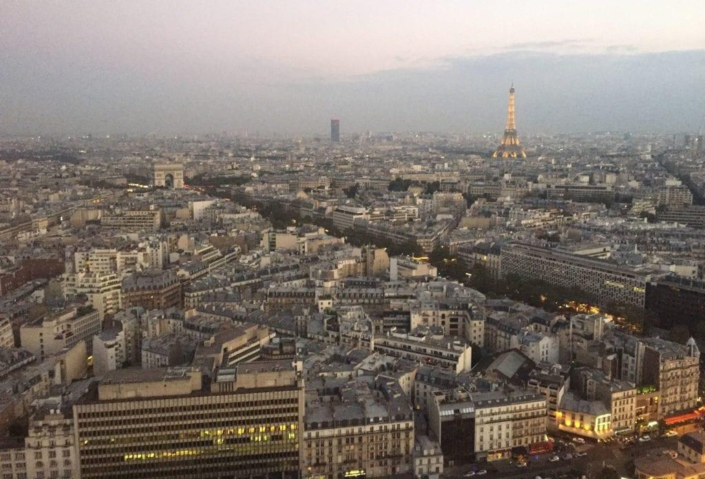 hyatt regency paris etoile view paris