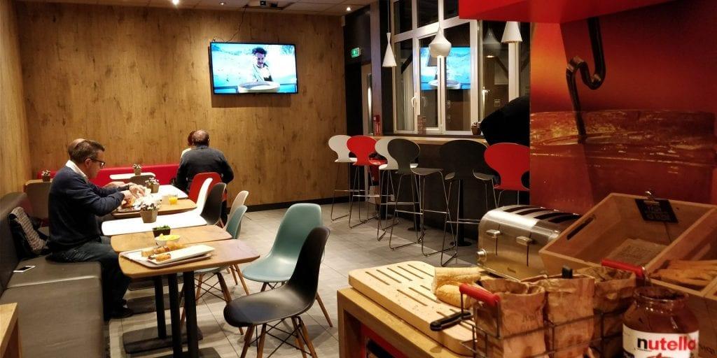 ibis Paris Levallois Perret Frühstück Raum