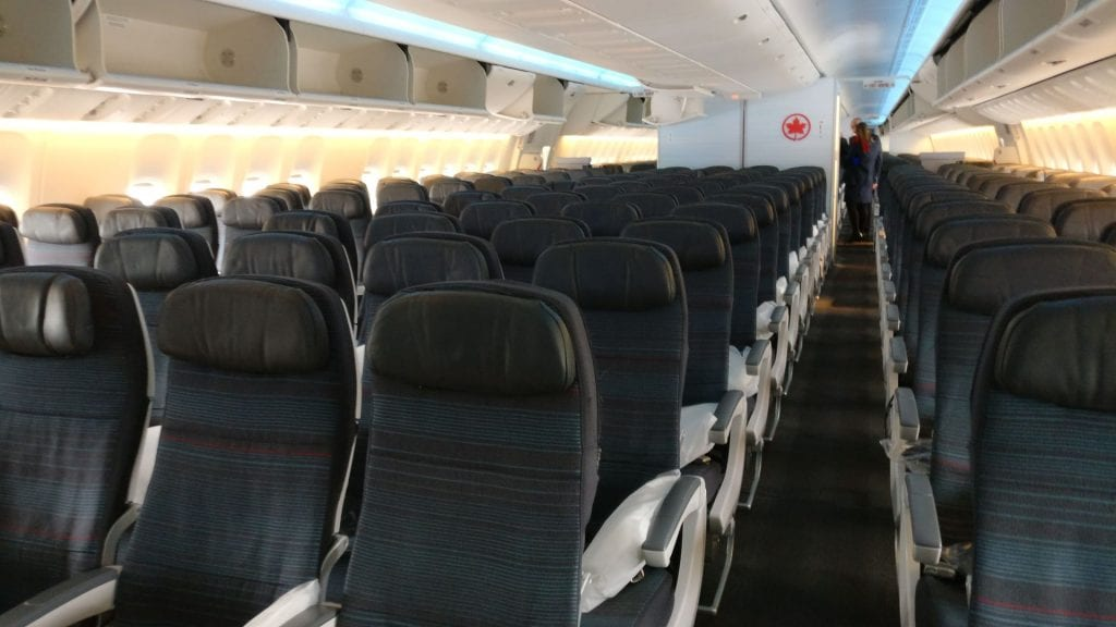 Air Canada Economy Class Boeing 777 300ER Seating 3