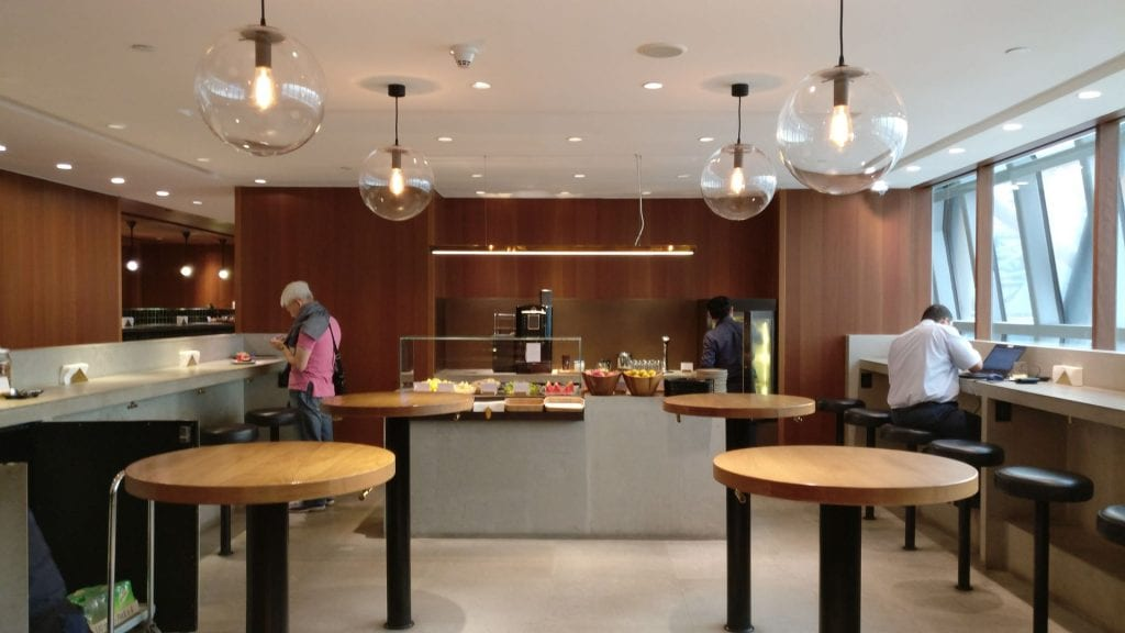 Cathay Pacific Lounge Bangkok Buffet