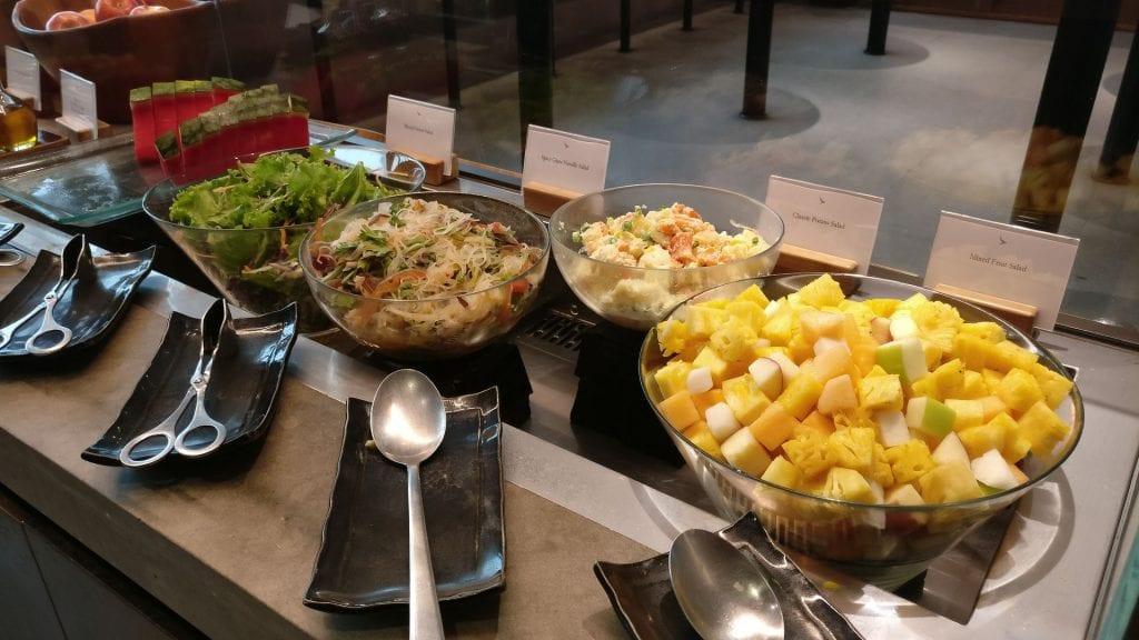 Cathay Pacific Lounge Bangkok Buffet 2