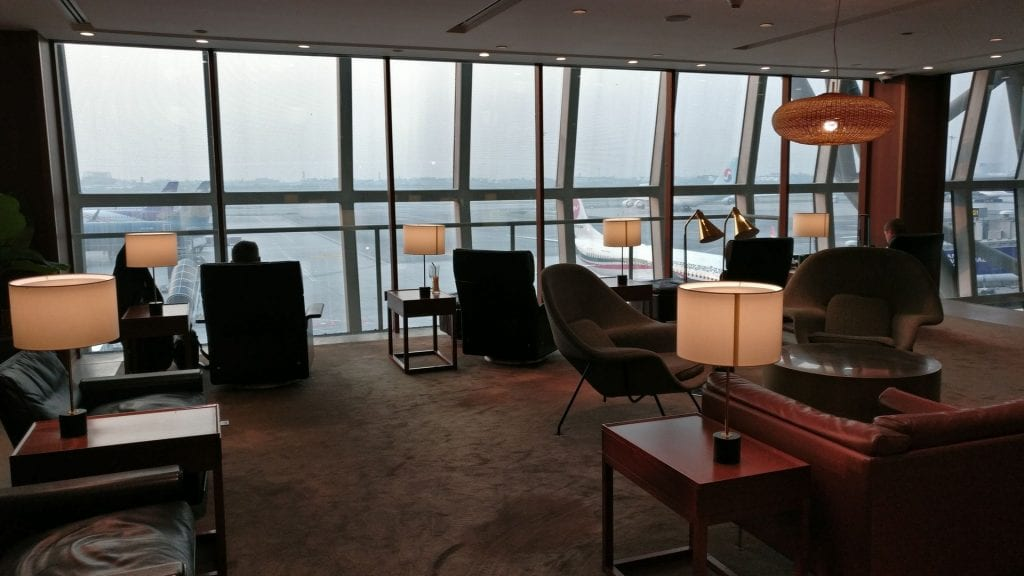 Cathay Pacific Lounge Bangkok Seating 3