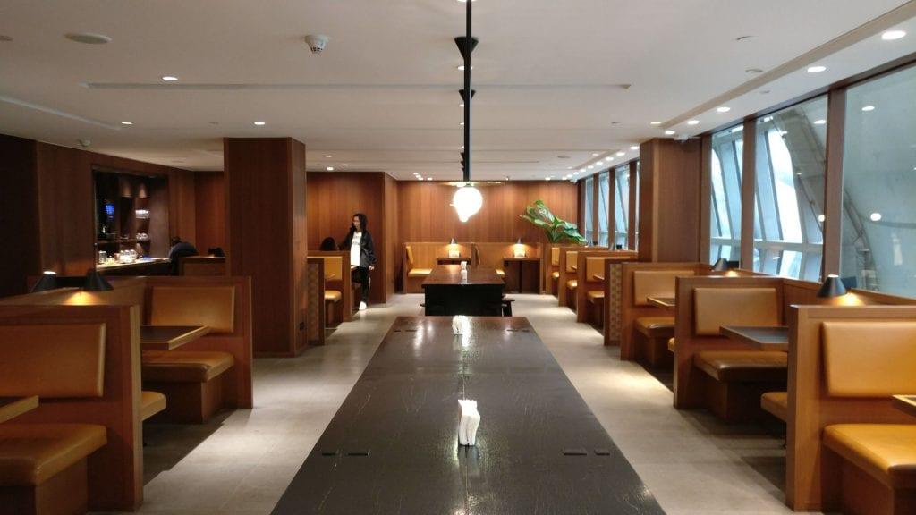 Cathay Pacific Lounge Bangkok Seating 4
