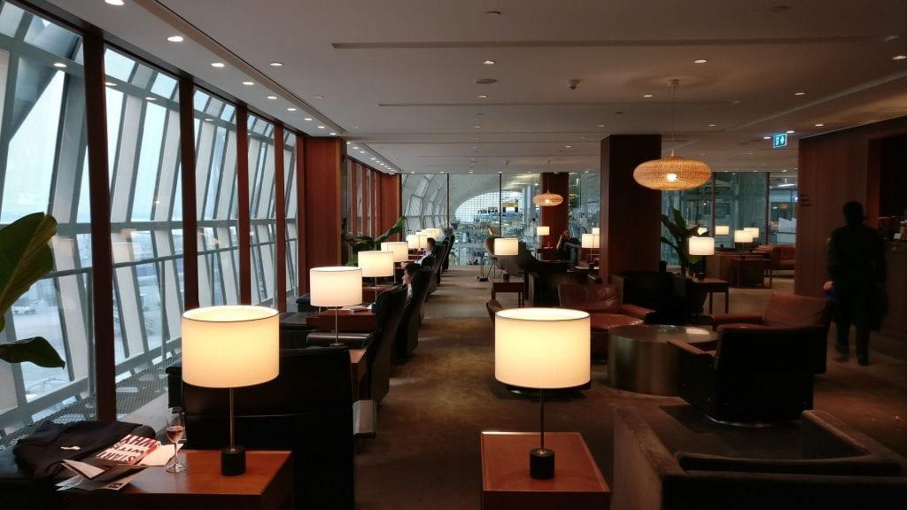 Cathay Pacific Lounge Bangkok Seating 8