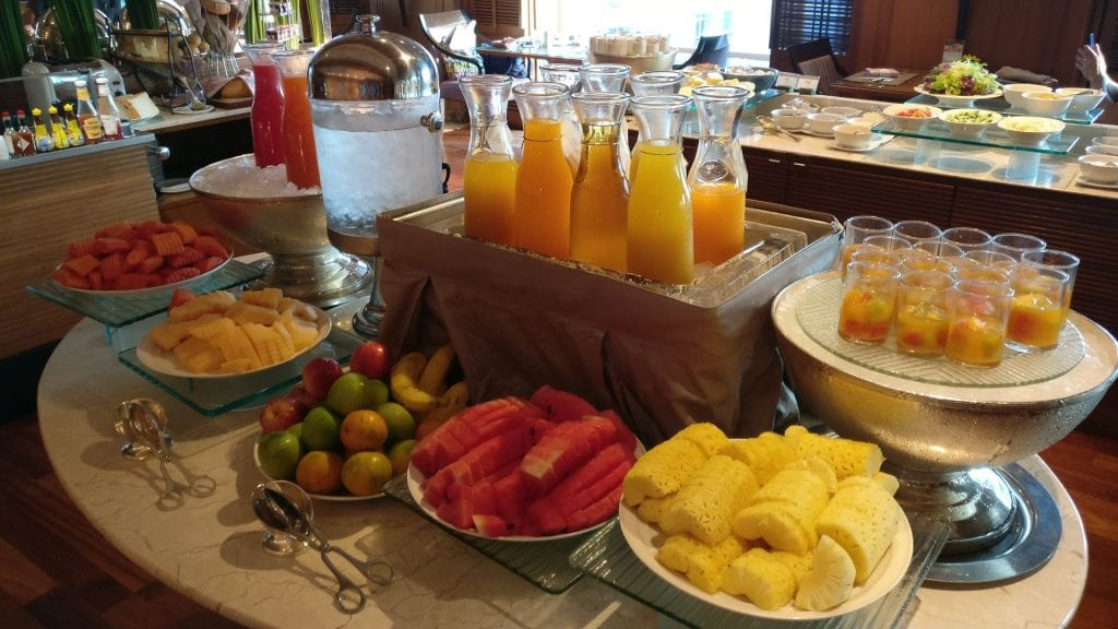 Conrad Bangkok Executive Lounge Breakfast