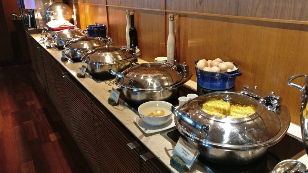 Conrad Bangkok Executive Lounge Breakfast 4