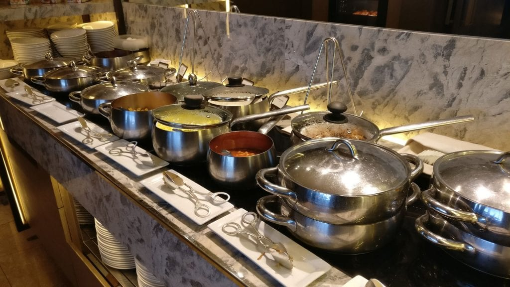 Conrad Hong Executive Lounge Breakfast 2