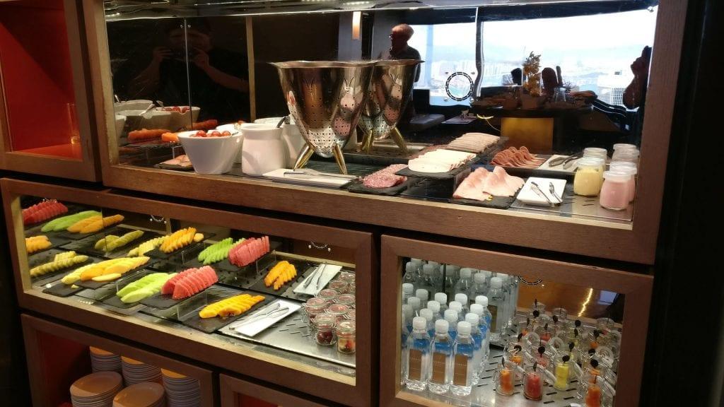 Conrad Hong Executive Lounge Breakfast 3