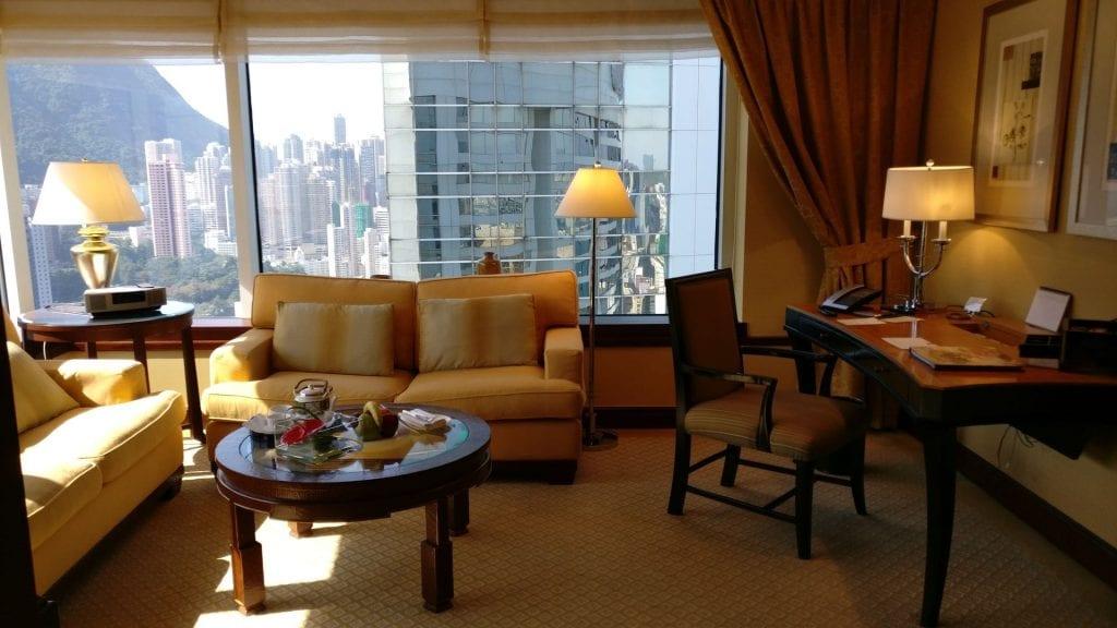 Conrad Hong Executive Peak Suite Living Room 2