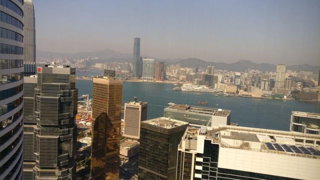 Conrad Hong Executive Peak Suite View