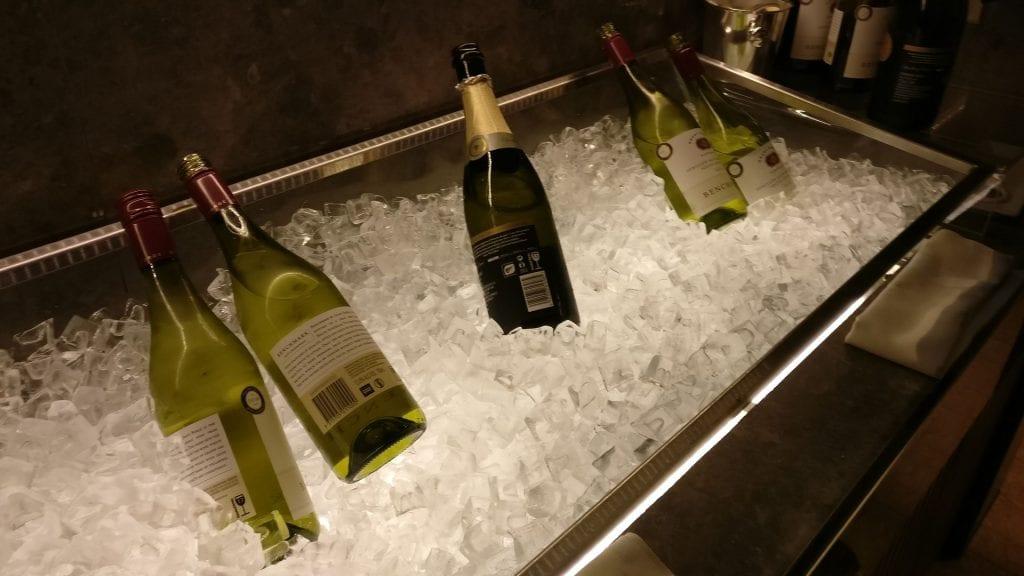 Conrad Hongkong Executive Lounge Evening Spread 3