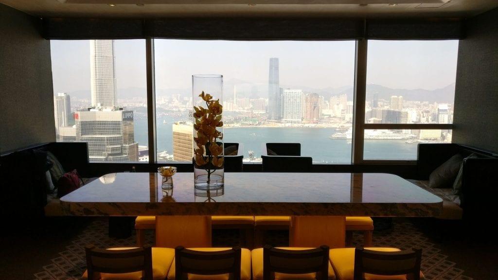 Conrad Hongkong Executive Lounge View
