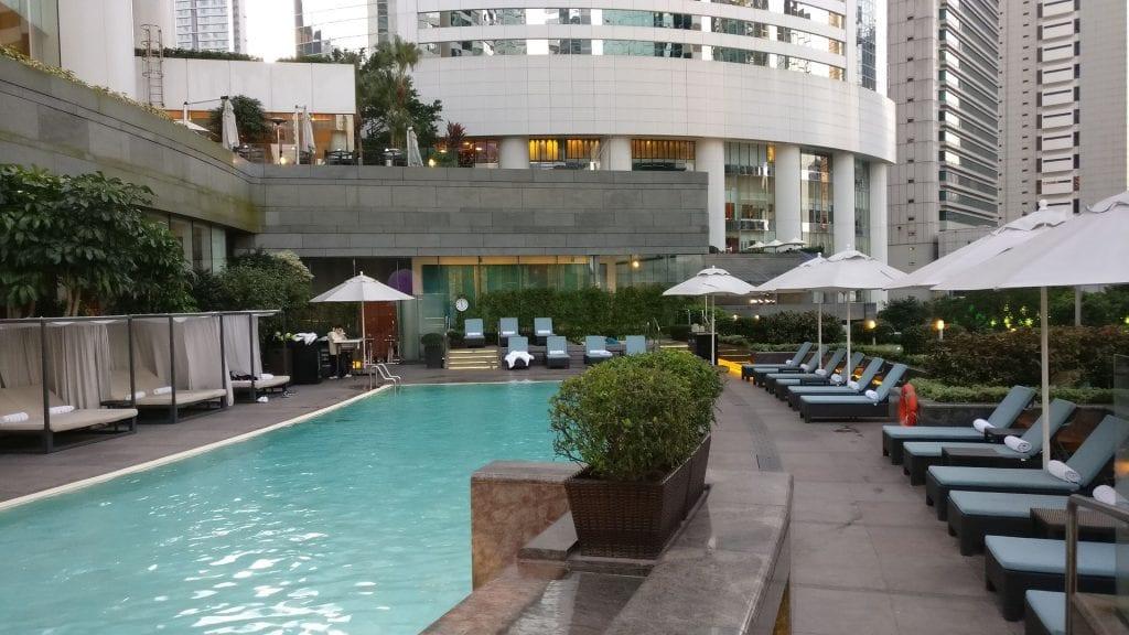 Conrad Hongkong Pool 4