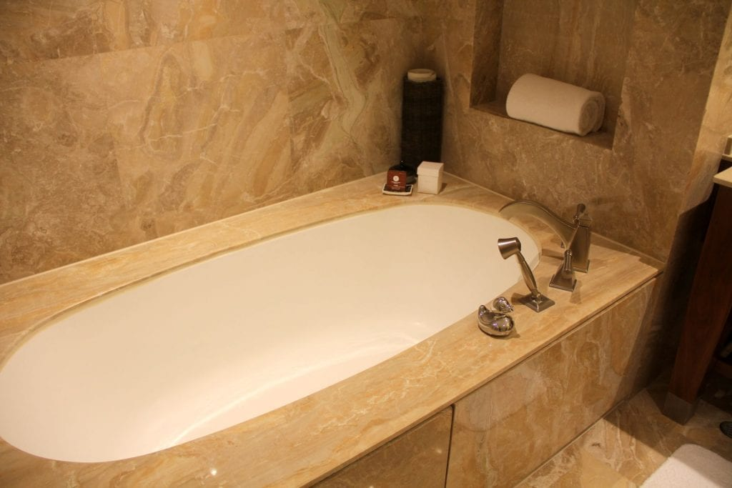 Conrad Macao Deluxe Suite Bathroom 4