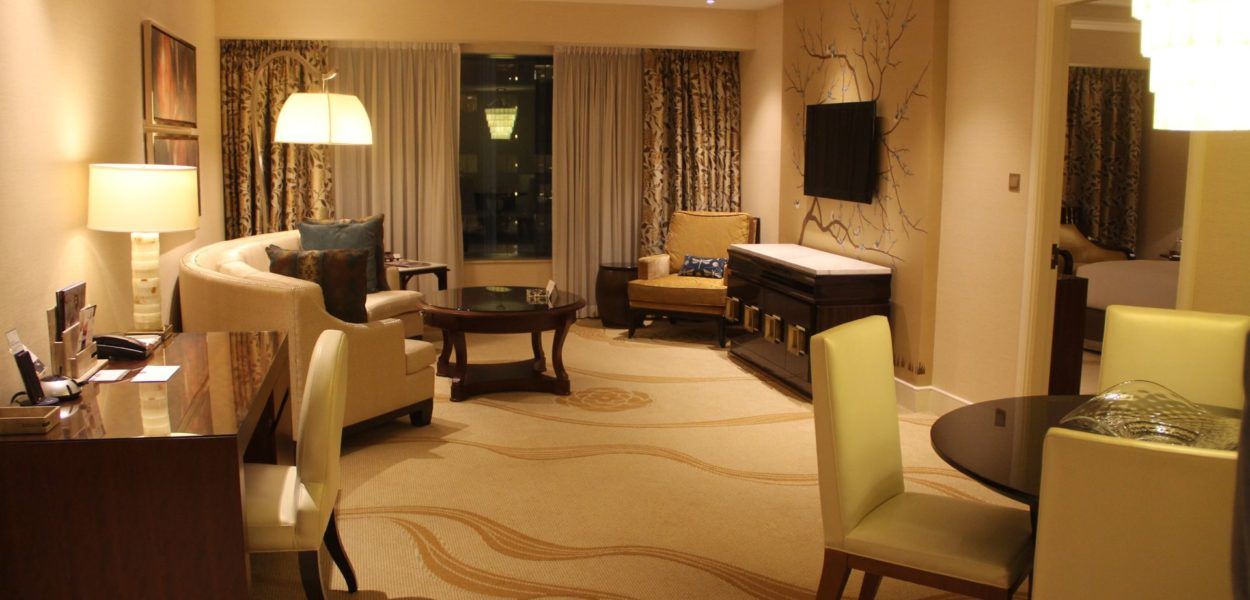 Conrad Macao Deluxe Suite Living Room