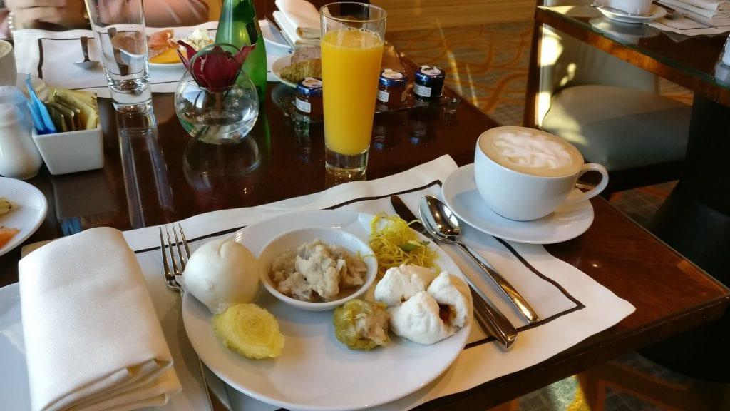 Conrad Macao Executive Lounge Breakfast 4