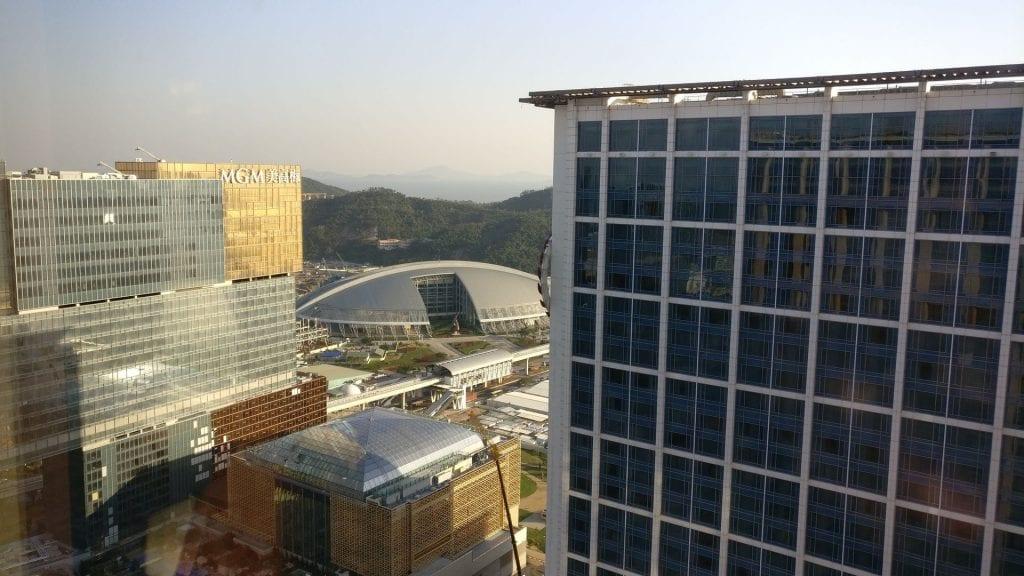 Conrad Macao Executive Lounge View