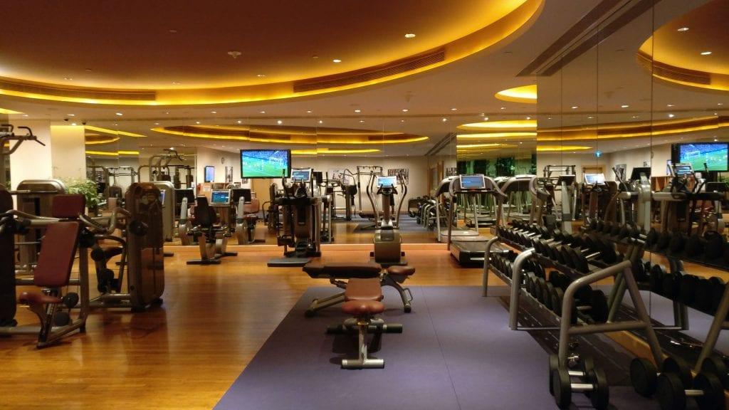 Conrad Macao Gym 3