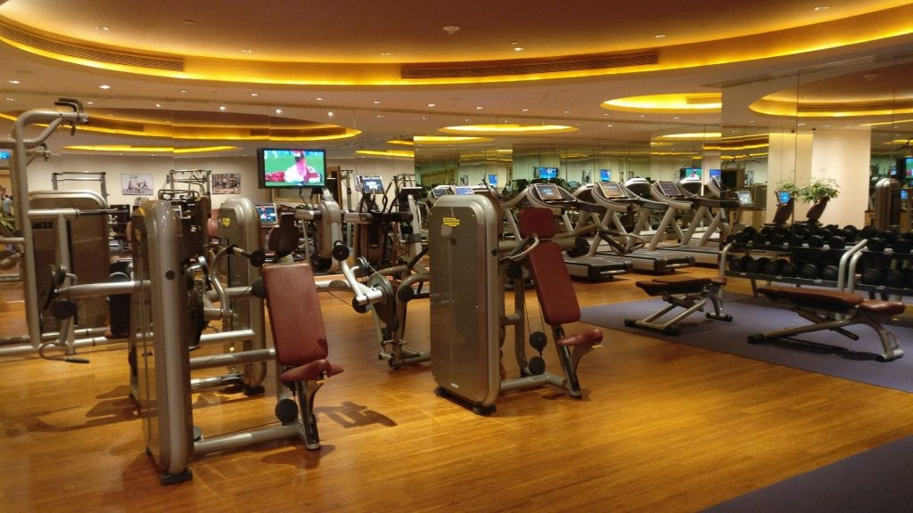 Conrad Macao Gym 4