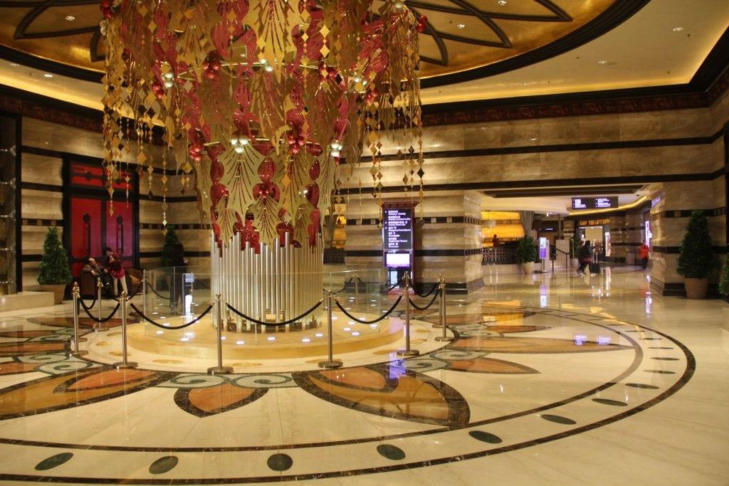 Conrad Macao Lobby
