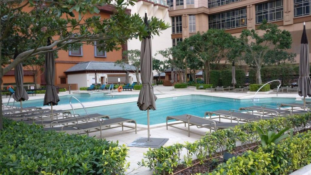 Conrad Macao Pool 4