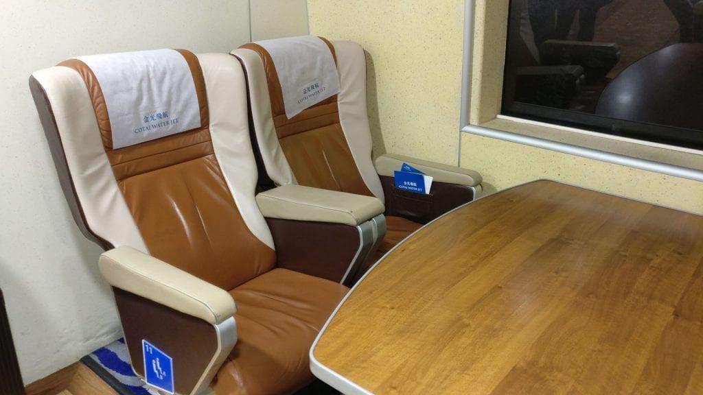 Cotai Water Jet First Class