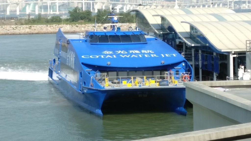 Cotai Water Jet Ship