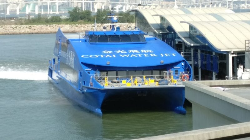 Cotai Water Jet Ship