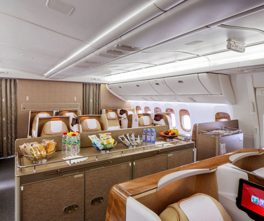 Emirates Business Class Boeing 777 200LR 2